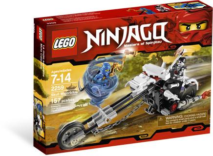 LEGO Ninjago 2259 Motorka kostlivců