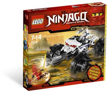 LEGO Ninjago 2518 Nuckalův terénní vůz