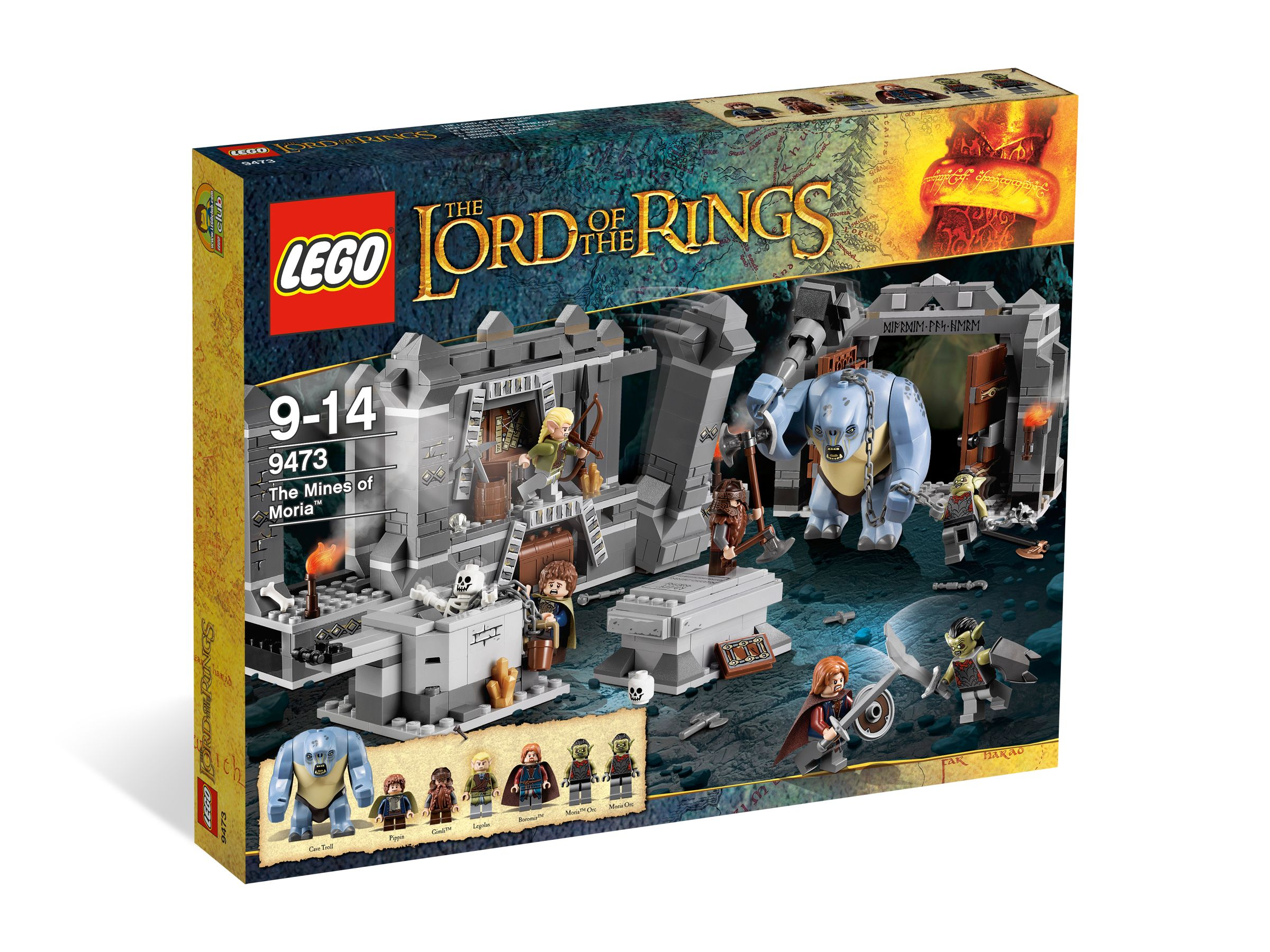 LEGO Pán prstenů 9473 Doly v v Morii