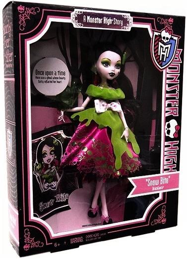 MATTEL Monster High - pohádková řada- Draculaura