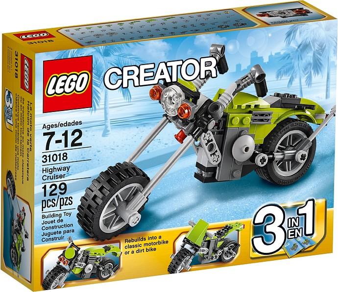 LEGO Creator 31018 Dálniční motorka