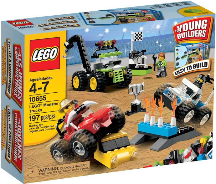 LEGO Creator 10655 Monster trucks
