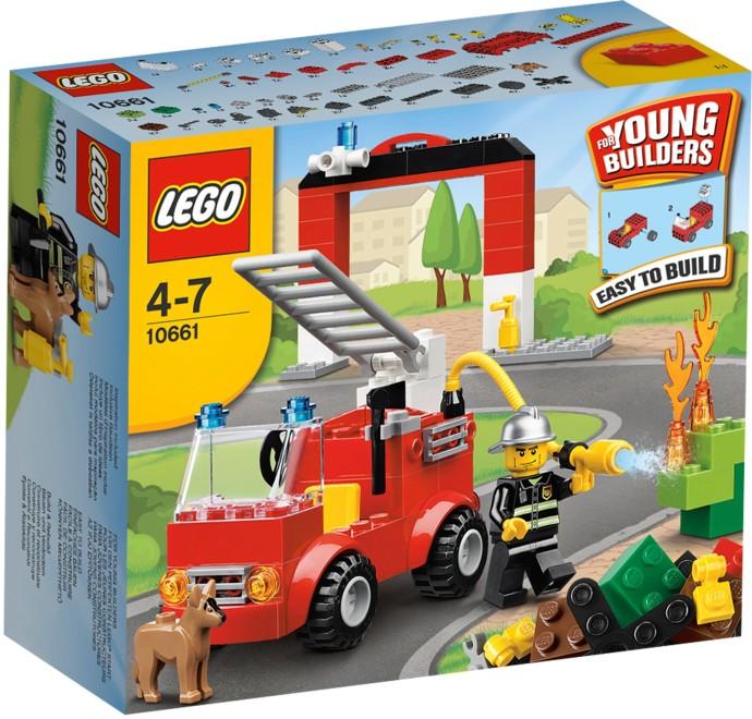 LEGO Moje první Lego 10661 Hasičská stanice