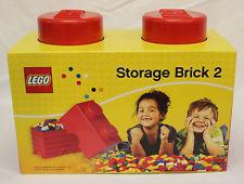 LEGO Storage box 2 červený