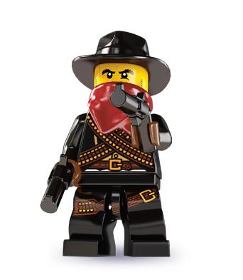 LEGO Minifigurky 8827 série 6-5 (Bandit)