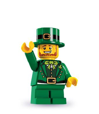 LEGO Minifigurky 8827 série 6-9 (Leprechaun)
