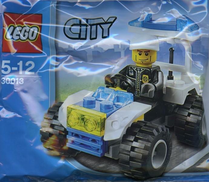 LEGO City 30013 Policejní čtyřkolka