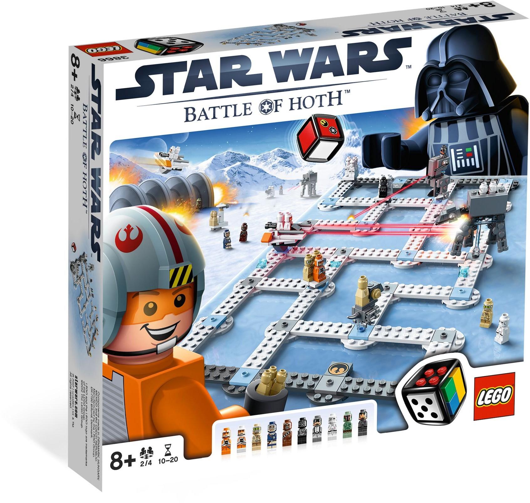 LEGO Stolní hra 3866 Star Wars Bitva o Hoth