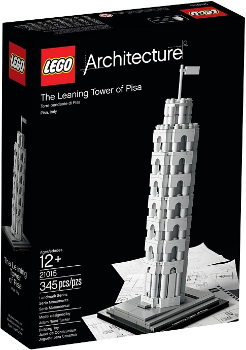 LEGO Architecture 21015 The Leaning Tower of Pisa - 2.jakost