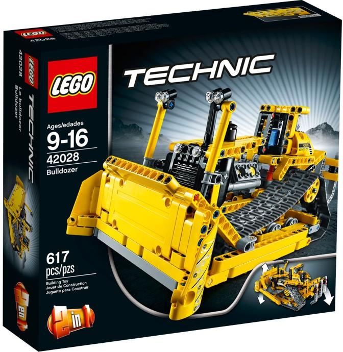 LEGO Technic 42028 Buldozer 2.jakost