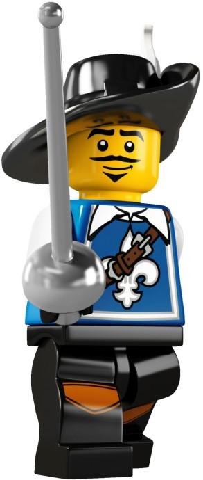 LEGO Minifigurky 8804 série 4-3 (Musketeer)