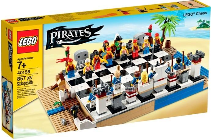 LEGO Piráti 40158 Šachy
