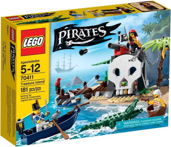 LEGO Piráti 70411 Ostrov pokladů