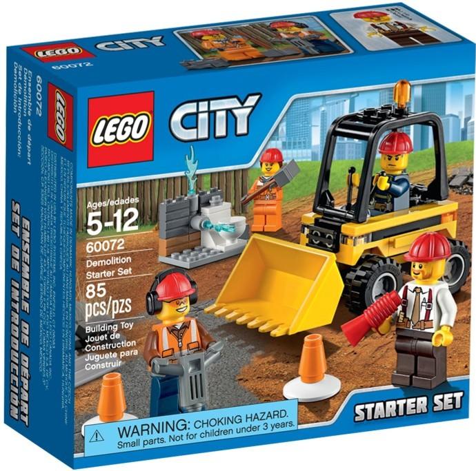 LEGO City 60072 Demoliční práce - startovací sada