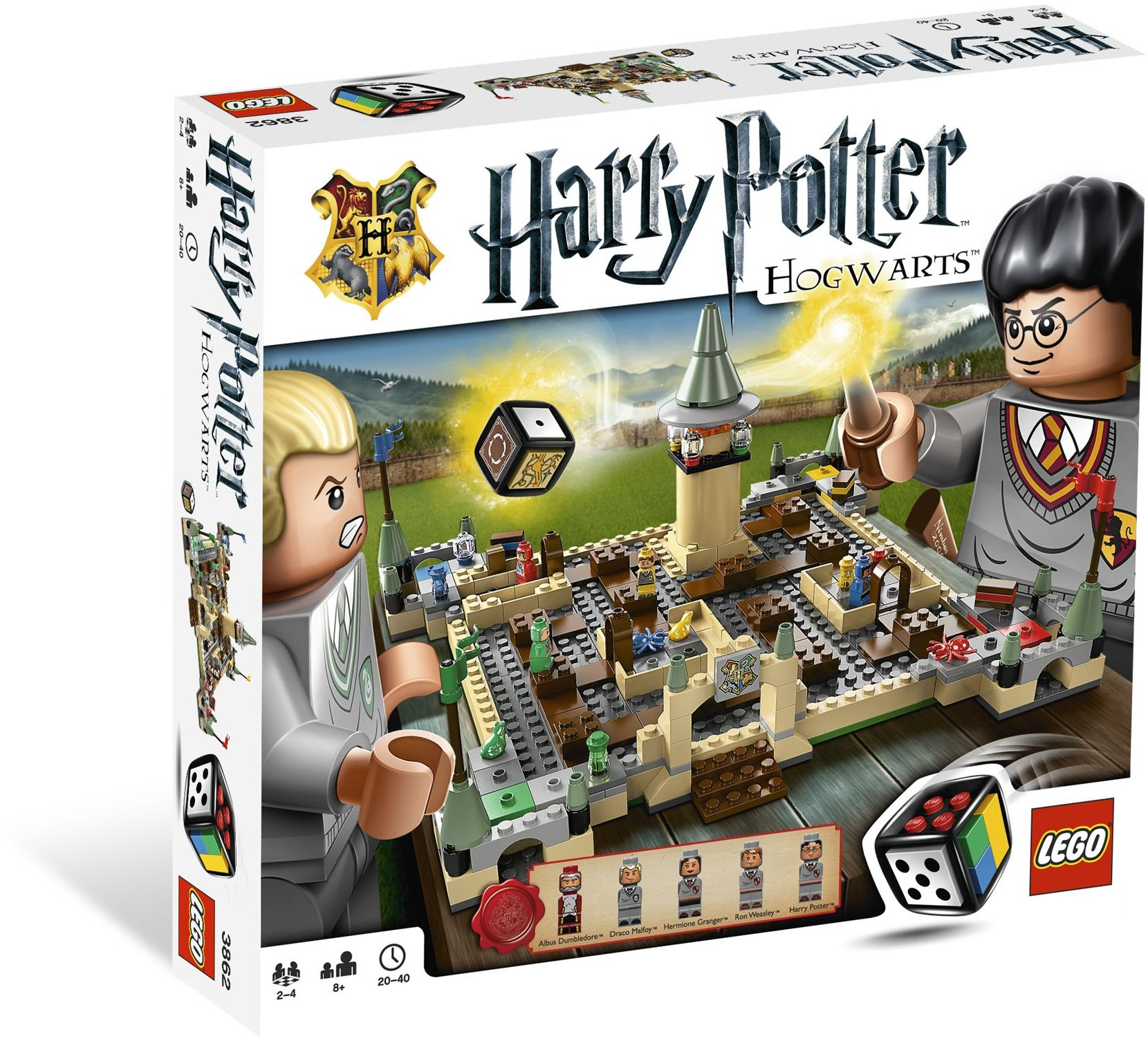 LEGO Stolní hra 3862 Harry Potter Bradavice