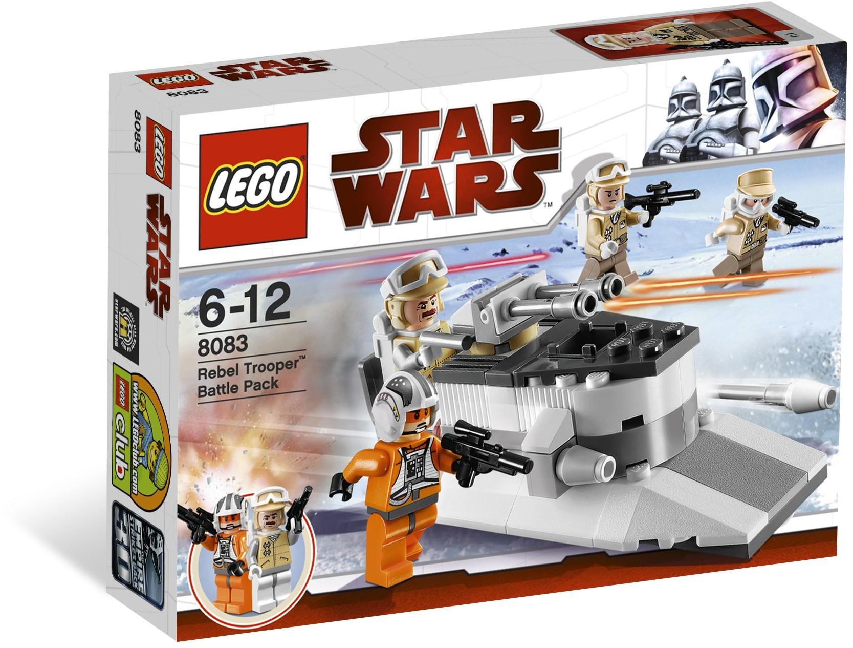 LEGO Star Wars 8083 Bojová jednotka Rebelů