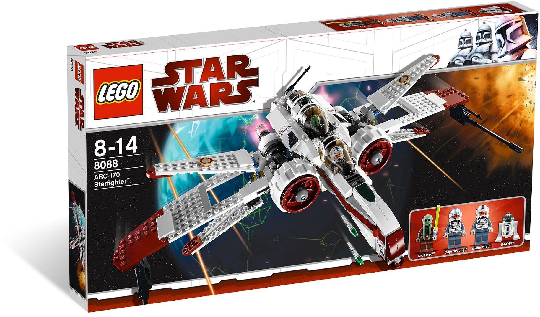 LEGO Star Wars 8088 Hvězdná stíhačka ARC-170
