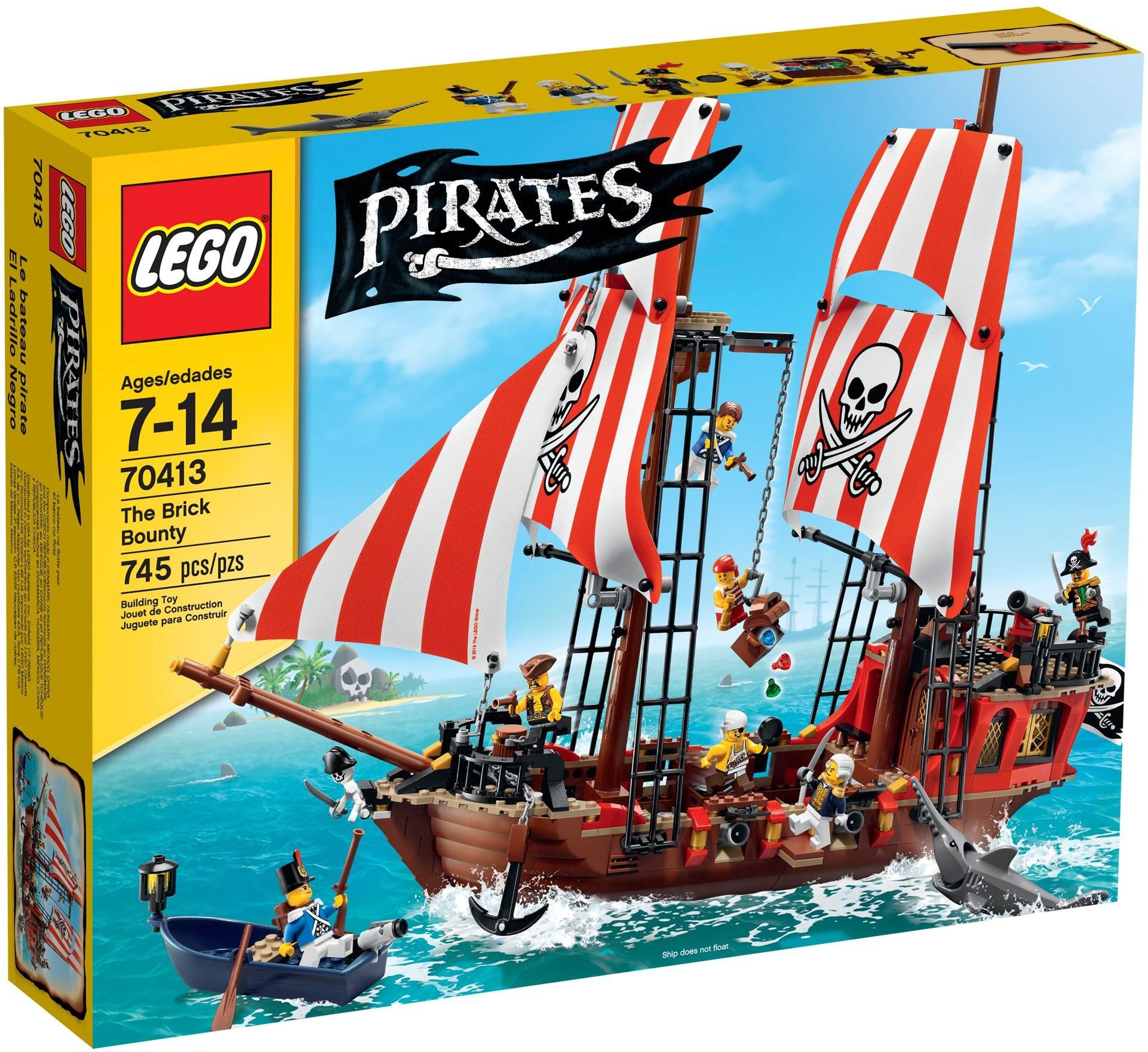 LEGO Piráti 70413 Pirátský dvojstěžník