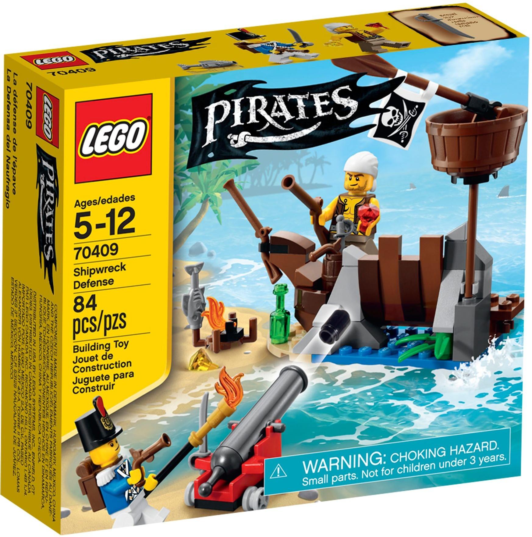 LEGO Piráti 70409 Obrana vraku