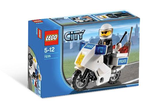 LEGO City 7235 Policejní motorka