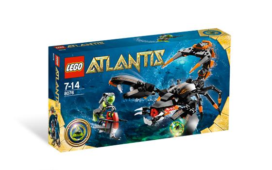 LEGO Atlantis 8076 Hlubokomořský útočník