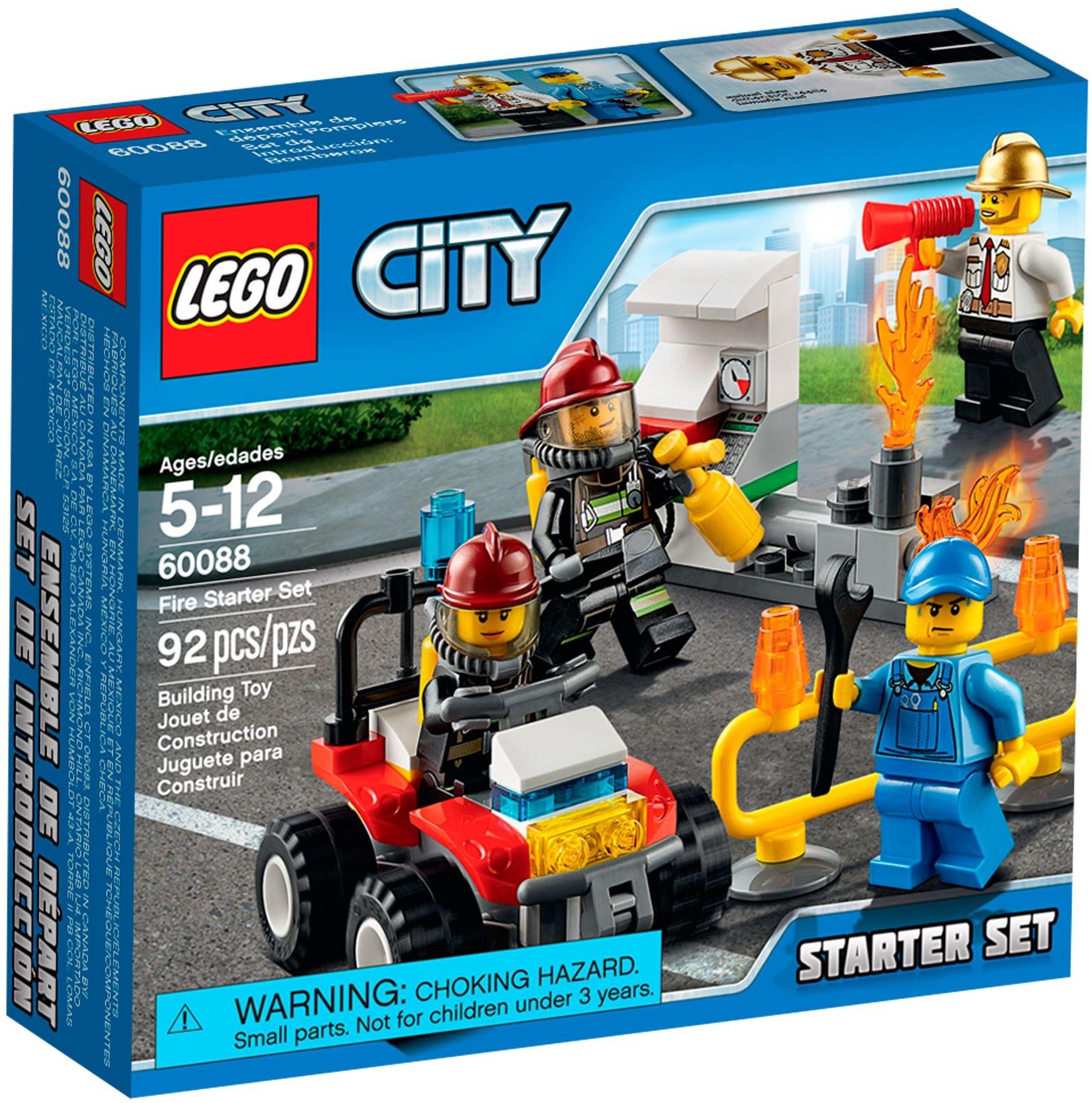 LEGO City 60088 Hasiči startovací set