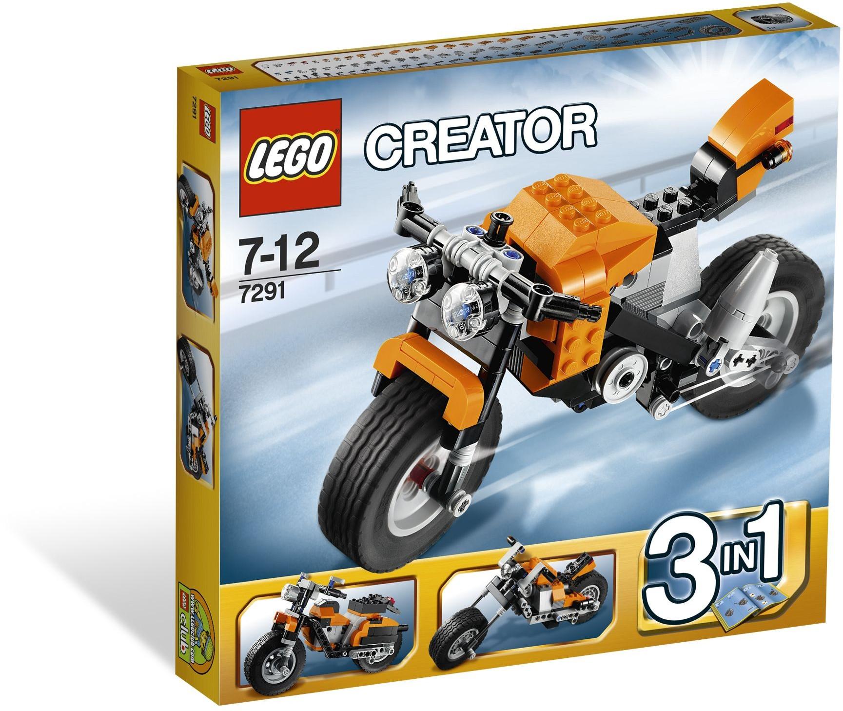 LEGO Creator 7291 Silniční rebel