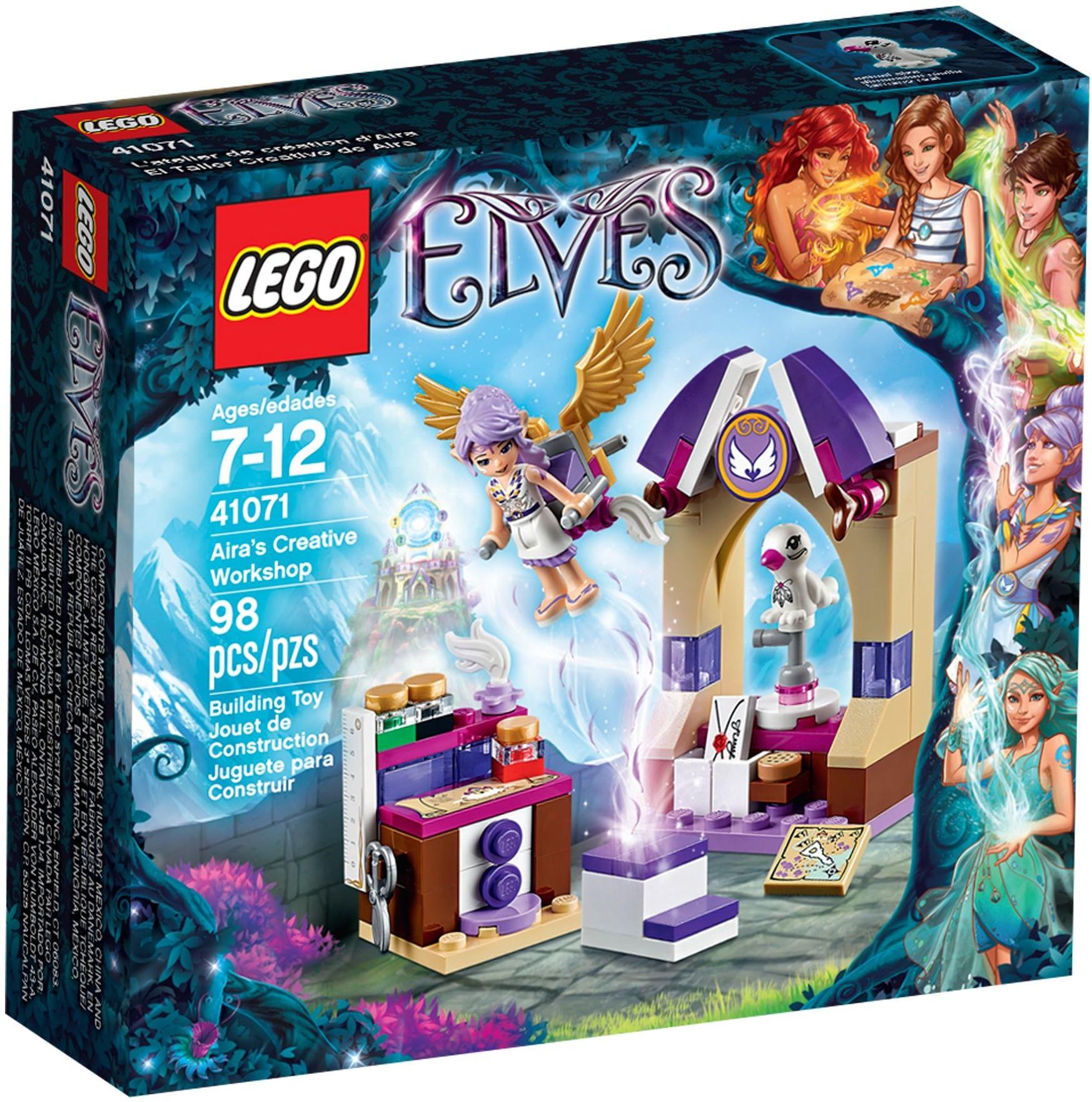 LEGO Elves 41071 Aira a její tvůrčí dílna