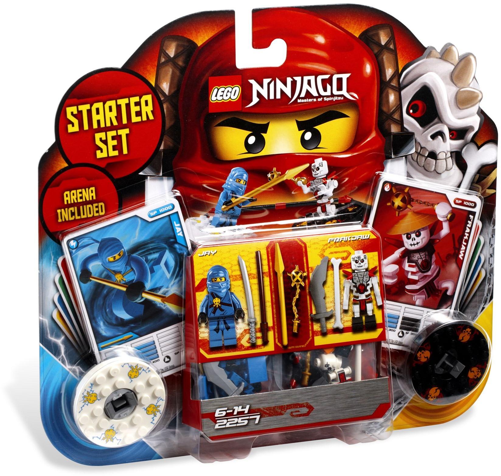 LEGO Ninjago 2257 Spinjitzu - základní sada