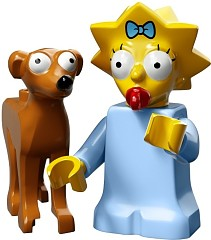 LEGO Minifigurky 71009-4 The Simpsons (Maggie)